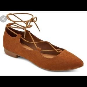 Mossimo Supply Co. Shoes - NWOT Flirty Lace Up Flats