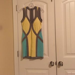 A MacDuggal couture size 6 homecoming dress