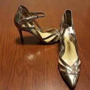 A.N.A silver strap high heel NWT no box