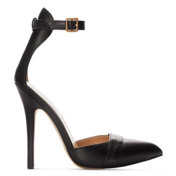 Target Black Pumps Heels Sandals