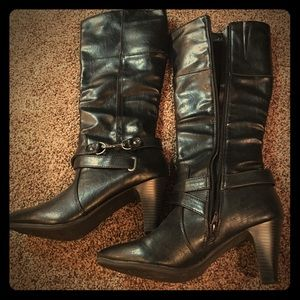 Life Stride Shoes - Black heeled boots