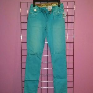 Dereon Denim - NWT house of dereon teal jeans