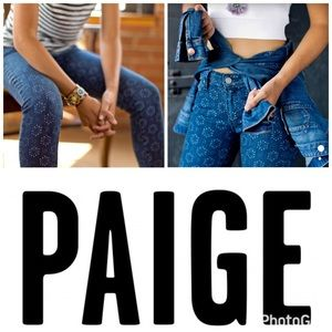 Paige Jeans Denim - Paige Verdugo Ankle ☀️ White Sundial Jeans Size 24