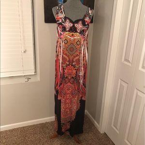 One World  Dresses & Skirts - Boho style maxi dress soft & loose fit size L