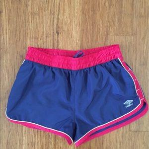 Umbro Pants - Umbro women's short lightweight running shorts
