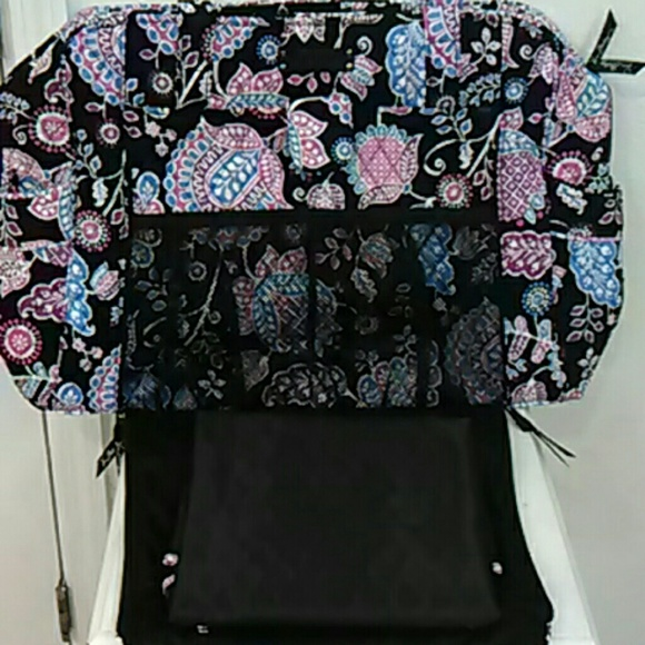 49 off vera bradley handbags large baby diaper bag vera bradley stroll around from susan 39 s. Black Bedroom Furniture Sets. Home Design Ideas