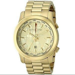 World Map Watch Michael Kors.Michael Kors Accessories Big Salenwt Global Map Watch Poshmark