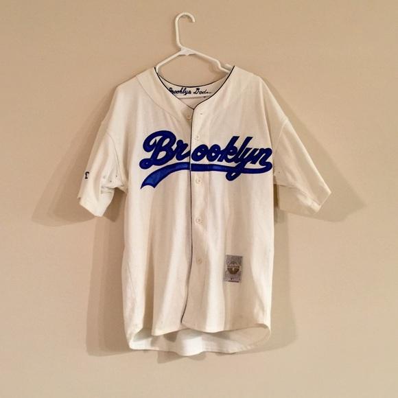new styles a0354 35cc6 Vintage 1955 Brooklyn dodgers jersey M