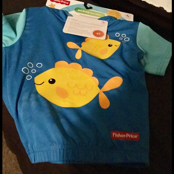 Fisher Price Other - Fisher Price Sun Shirt - Boy 4T NWT
