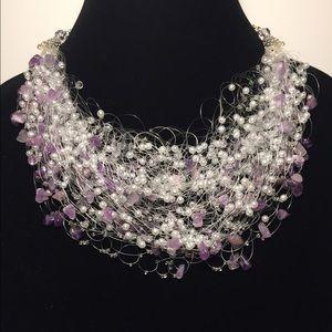 Amethyst Stone Handmade Necklace
