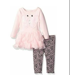 Nannette Other - NWT Nannette  24 Baby Girls' 2 Piece set