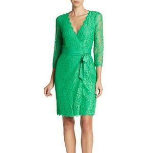 Diane von Furstenberg Dresses & Skirts - DIANE VON FURSTENBERG Julianna Lace Wrap Dress