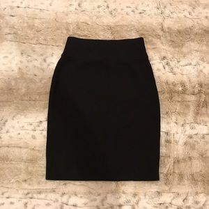 NWT Express Black Pencil Skirt