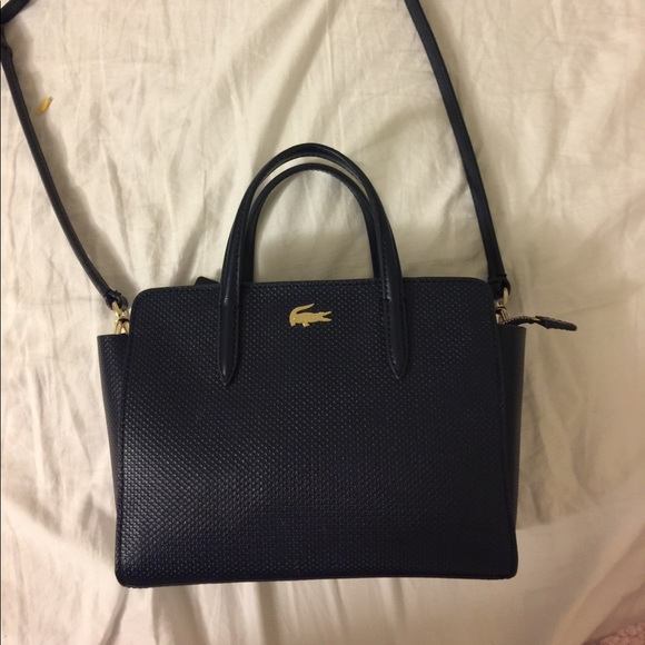 02e3d492c7677 Lacoste Handbags - Lacoste Chantaco Extra Small Shopping Bag Peacoat