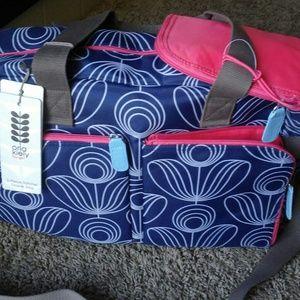 Orla Kiely Handbags - Orla kiely 3-piece Satchel Diaper Bag