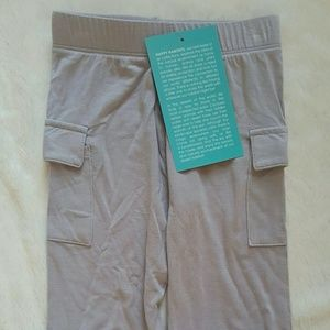 Kickee Pants Other - Kickee Pants Grey Baby Cargo Pants