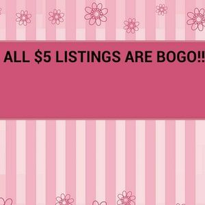 💥ALL $5 LISTINGS ARE BOGO!💥