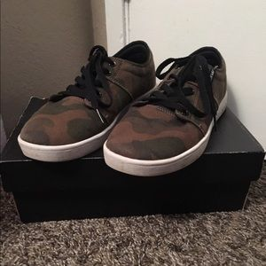 Camouflage Supra Shoes