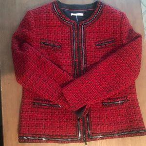 Basler Jackets & Blazers - Basler Tweed Zip up Jacket Size 44