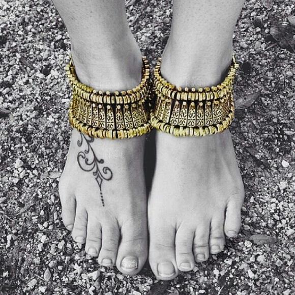 Karis' Kloset Jewelry - Jewelry | 2 gold boho bracelets or anklets