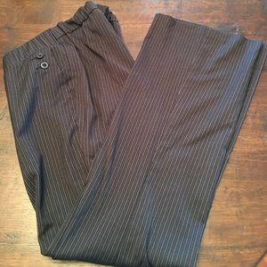 MotherHood maternity pinstripe pant size small
