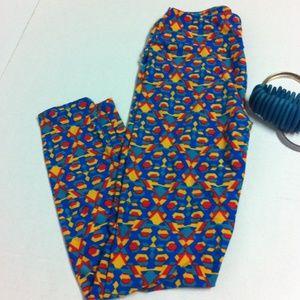 LuLaRoe Pants - Fun bright geo pattern leggings by LuLaRoe