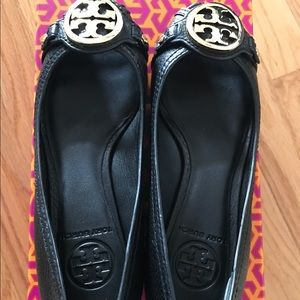 Tory Burch Shoes - Tory Burch Leticia open toe wedge
