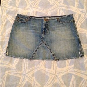 A&F Jean Skirt Size 4- also available in white