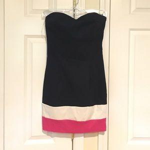 Strapless Sweatheart Neckline Dress