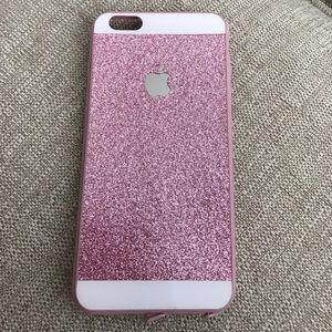 Accessories - Pink sparkly iPhone 6 Plus case