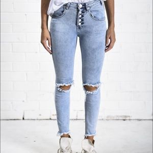 One Teaspoon Valiant Dixies Jeans