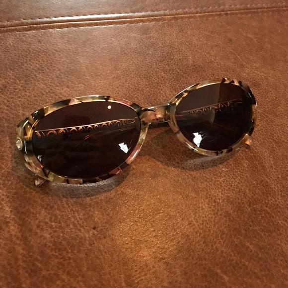 a4529dd5a657 Brighton Accessories - Brighton Crystal Ball MOP Tortoise Sunglasses