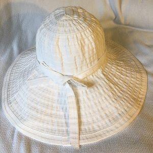 San Diego Hat Company Accessories - San Diego Hat Women's ribbon large brim hat