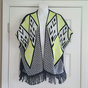 Say What? Tops - Say What? Bright Aztec Top