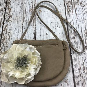 Urban Outfitters Handbags - 💕SALE💕Urban Outfitters Taupe Crossbody Bag