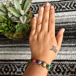 Boheme Jewelry - NEW! Chakra Stone Bracelet/Anklet