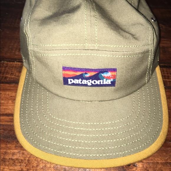 b88f7ebc898 Patagonia Other - Patagonia 5-panel surfer logo hat