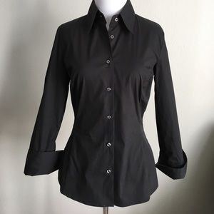 Thomas Pink Tops - Thomas Pink Black shirt - French cuff sz 6