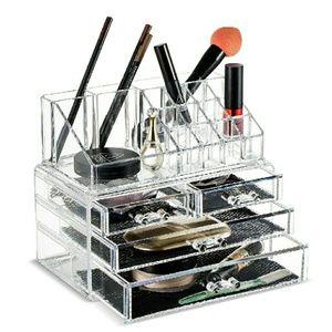 Other - NIB 2 Piece Makeup Organizer!