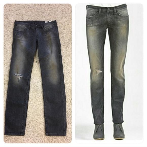 3178c389 Diesel Jeans | New Rare Runway Xeroz Distressed | Poshmark