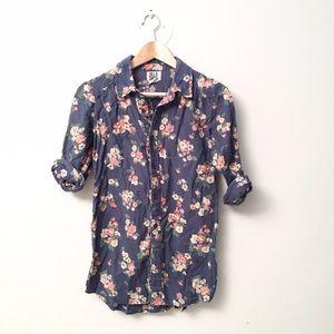 Billabong Tops - 🐳billabong🐳floral shirt