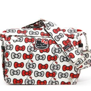 jujube Handbags - JUJUBE PEEK A BOW HELLO KITTY MESSENGER BAG