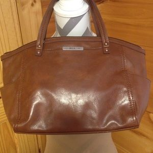 Relic purse shoulder bag brown
