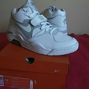 Nike Other - Brand New Nike Air Force 180 White Neutral Grey