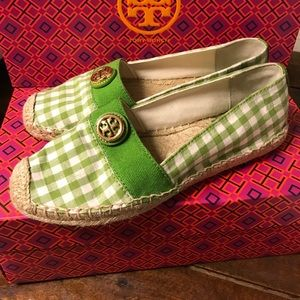 Tory Burch Shoes - Tory Burch Gingham Espadrilles size 6