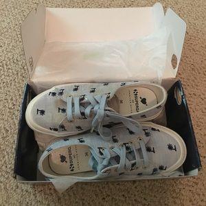 Superga Shoes - Superga X Jennifer light blue sneaker