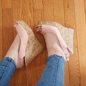 Marco Santi Shoes - Light pink Marco Santi wedges