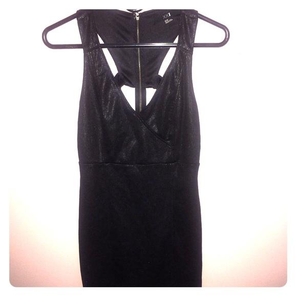 Super Short Black Dress