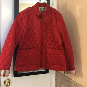 Women's Red Burberry Quilted Jacket on Poshmark : red burberry quilted jacket - Adamdwight.com