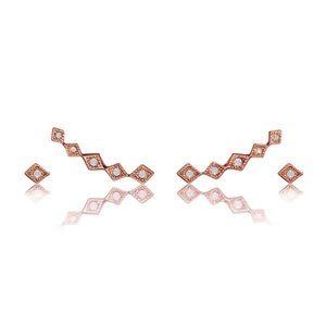LUV AJ Jewelry - 💥SALE💥🆕 LUV AJ Diamond Kite Crawler Earring Set
